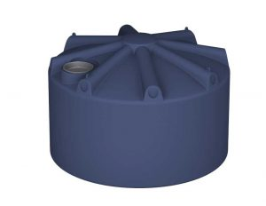 2250Ltr Round Poly Rainwater Tank