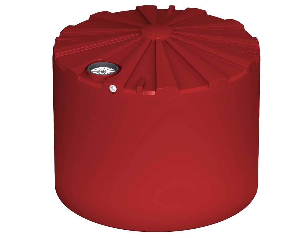 25000Ltr Round Poly Rainwater Tank