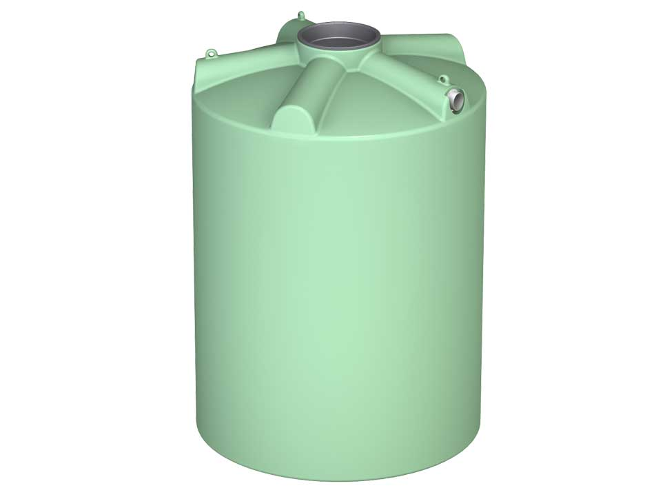 3000Ltr Round Poly Tank