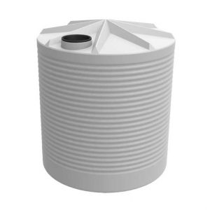 5000Ltr Round Corrugated Poly Tank