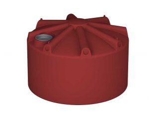 5000Ltr Round Squat Poly Tank