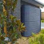 Slimline Steel rainwater tank