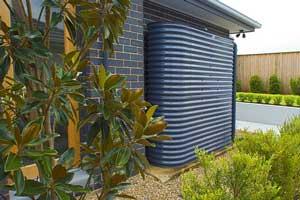 Slimline Rainwater Steel Tank