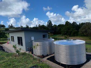 Stainless Steel Round Water Tank Tweed Heads