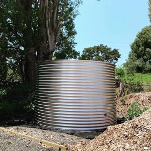 10,000L Steel Rainwater Tank